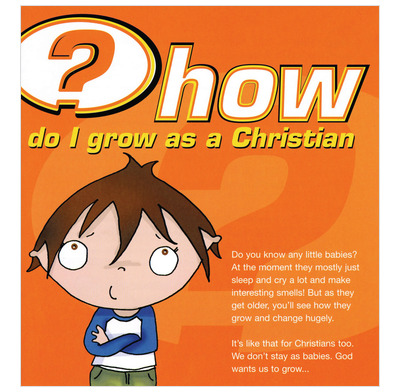 How do I grow as a Christian? (Pack of 25)