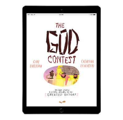 Download the full-size illustrations - The God Contest