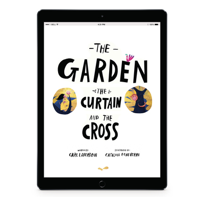 Download the full size images - The Garden, the Curtain and the Cross